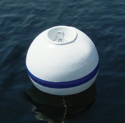 - Taylor Made Products 46818 Sur-Moor T3C Boat Mooring Shackle Nest Buoy, 18 Inch Diameter