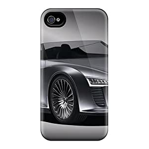 Durable Case For The Iphone 4/4s- Eco-friendly Retail Packaging(audi E Tron Spyder Front) by icecream design