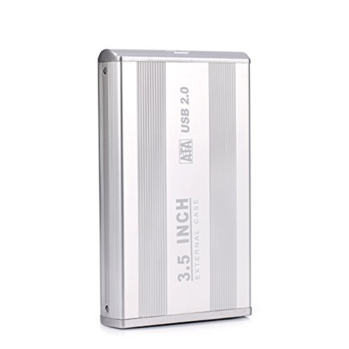 3.5 SATA to USB Hard Drive Enclosure Case - Aluminum