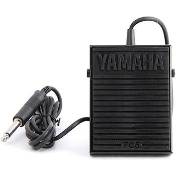 amazon com sustain pedal universal for yamaha casio roland korg keyboard sustain pedal jack yamaha fc5 compact sustain pedal for portable keyboards, black