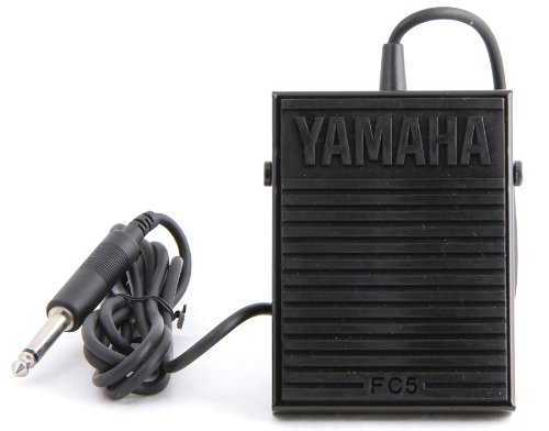 Price comparison product image Yamaha FC5 Compact Sustain Pedal for Portable Keyboards, black
