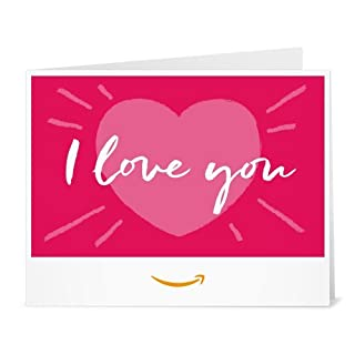Amazon Gift Card - Print - Love You (B01N7WF5SU) | Amazon price tracker / tracking, Amazon price history charts, Amazon price watches, Amazon price drop alerts