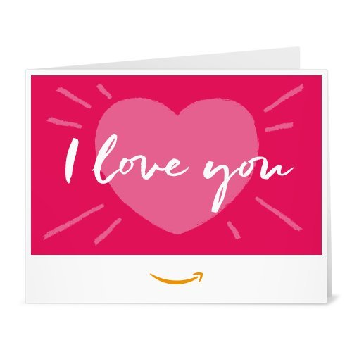 Love Gift Card (Amazon Gift Card - Print - Love You)