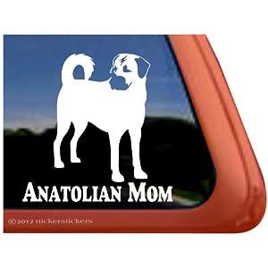 Anatolian Mom ~ Anatolian Shepherd Vinyl Window Auto Decal Sticker 3