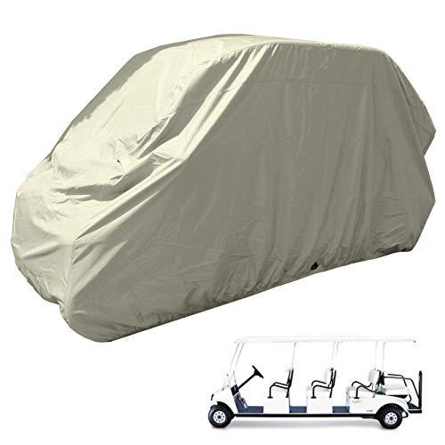golf cart 8 passengers storage