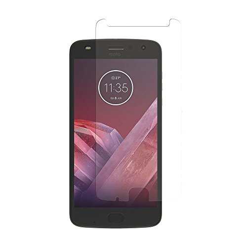 Incipio PLEX Plus Shield Motorola Moto Z2 Play Tempered Glass Screen Protector for Motorola Moto Z2 Play (2017) - Clear -  CL-615-TG