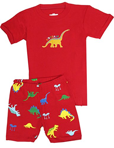 "Boys clothes ""Dinosaur"" Cotton Short boys toddler Pajamas shirt kids sleep pjs Dolphin&Fish"