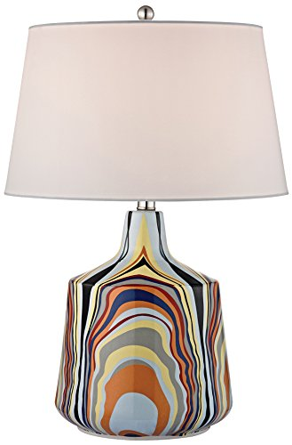 dimond-lighting-d2491-led-one-light-table-lamp-technicolor-stripes-finish-with-ceramic-glass