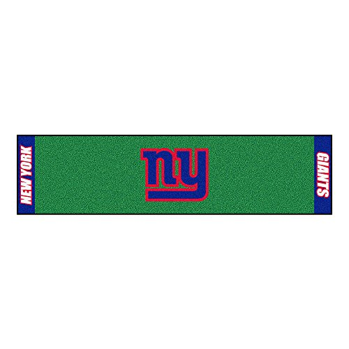 FANMATS NFL New York Giants Nylon Face Putting Green Mat - Giants Putting Green