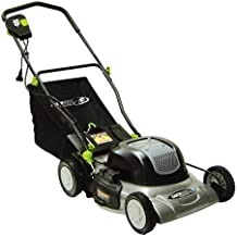 Earthwise 50120 20-Inch 12-Amp Electric Mulching Lawn Mower with Grass Bag