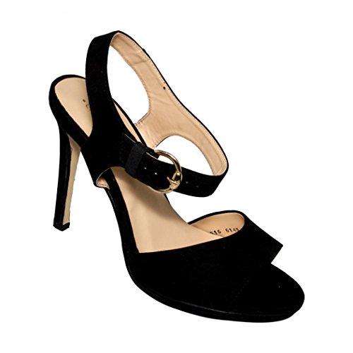 negro 6148CA52499915 Favorita nobuck para Su 24 5 moda Zapatillas dama de wS7Fqq