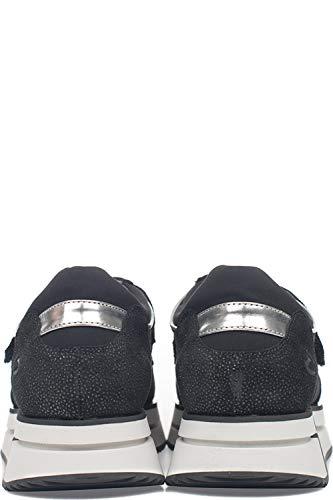 Alberto Gamuza Sd61443esd00 Negro Guardiani Zapatillas Mujer rzCrq