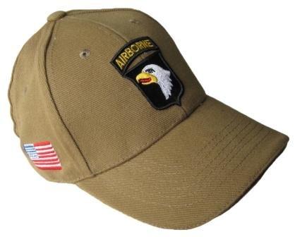 Khaki US 101st Airborne Baseball Cap
