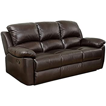Amazon.Com: Abbyson Living Westwood Top Grain Leather Loveseat