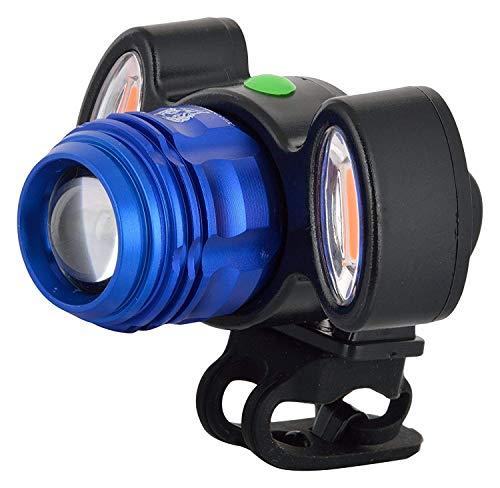UDee USB Rechargeable Cycle Head Lights LED Flashlight Multi Color
