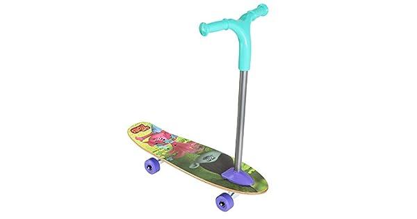 Amazon.com: PlayWheels Trolls Tabla de skate de 26.0 in ...
