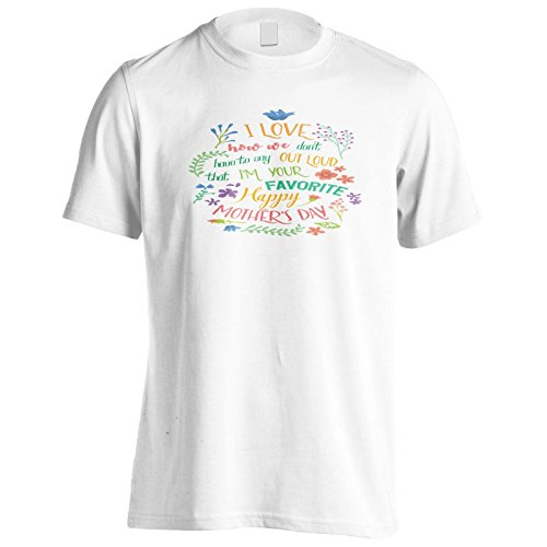 Ich Liebe, Wie Wir Nicht Laut Sagen Müssen Herren T-Shirt k721m