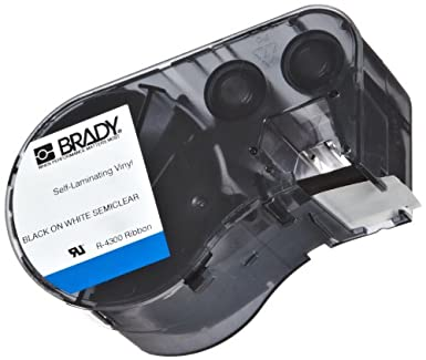 Brady M-48 - 427 vinilo b-427 negro sobre blanco/claro ...