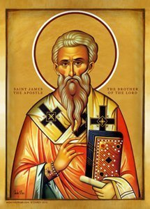 Saint James The Brother of the Lord Icon