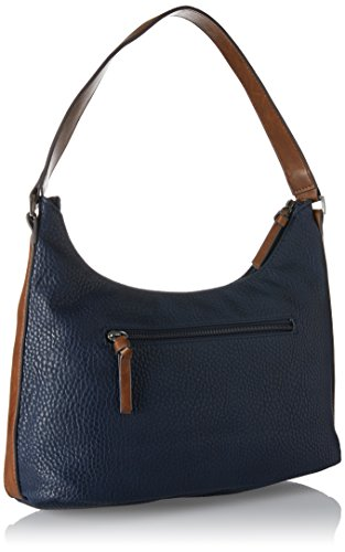 Tamaris Lee Hobo Bag - Shoppers y bolsos de hombro Mujer Azul (Navy Comb)