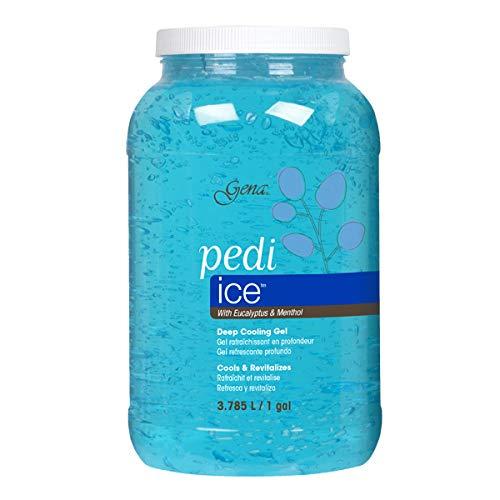 (Gena Pedi Ice Gel Gallon, 128 Fluid Ounce)