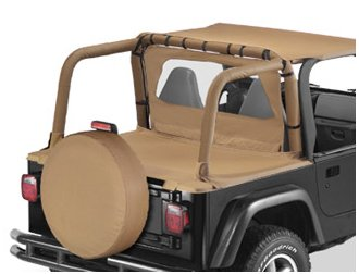 Bestop 80020-37 Spice Sport Bar Cover for 1997-2002 Wrangler TJ with or Without Factory soundbar by Bestop (Image #2)
