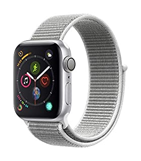 Apple Watch Series 4 (GPS, 40mm) - Silver Aluminium Case with Seashell Sport Loop (B07HDHQ3YP) | Amazon price tracker / tracking, Amazon price history charts, Amazon price watches, Amazon price drop alerts