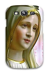 3616775K74814734 Anti-scratch Case Cover Protective Nossa Senhora De Fatima - Portugal Case For Galaxy S3