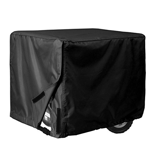 Porch Shield 100% Waterproof Universal Generator Cover 32 x 24 x 24 inch, For Most Generators 5000-10000 Watt, Black