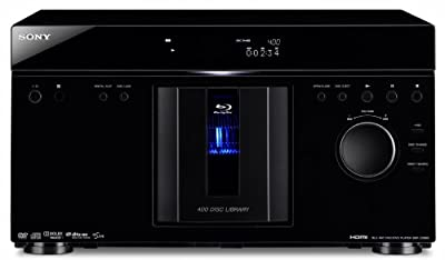 Sony BDP-CX960 400 Disc Blu-ray Disc / DVD MegaChanger (Black) (2009 Model) from Sony