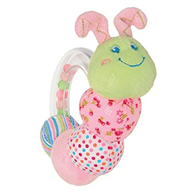 Mary Meyer Cutsie Caterpillar Rattle : Baby Rattles : Baby