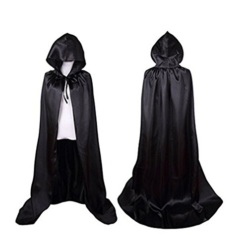 Labellevie Hooded Cape Cloak Full Length Adult Unisex Cosplay Party Costume Halloween