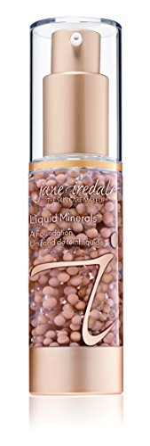 Bead Liquid - jane iredale Liquid Minerals A Foundation, Satin, 1.01 oz.