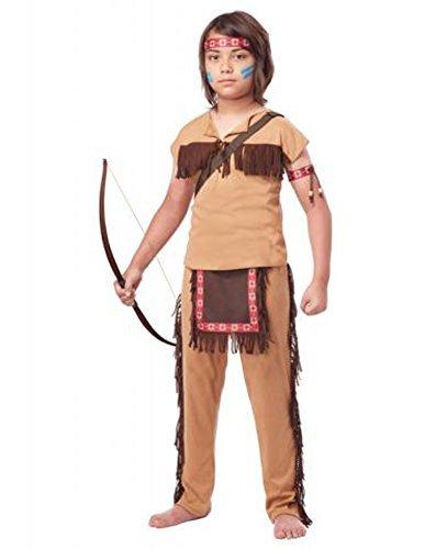 California Costumes Native American Brave Child Costume,