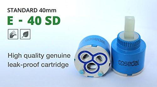 Sedal Sedal-40 SD40MM 40 mm Cartucho de disco de cerámica E-40 AZ ...