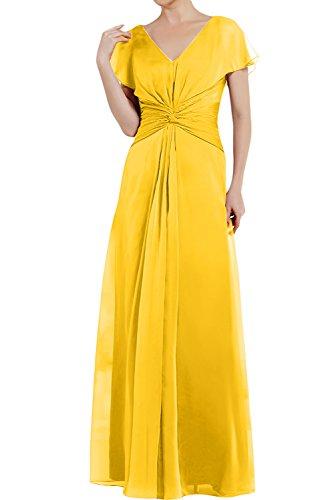TOSKANA BRAUT - Vestido - trapecio - para mujer dorado