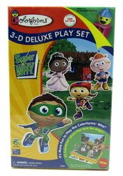 Super Why Pig Costume (Colorforms 3D Deluxe Play Set Super WHY)