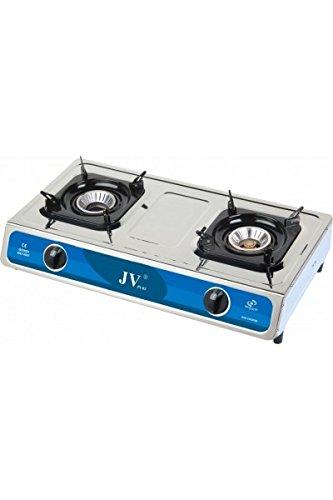 Cago JV-03 – Hornillo de gas (2 Fuegos) a llamas concentrées