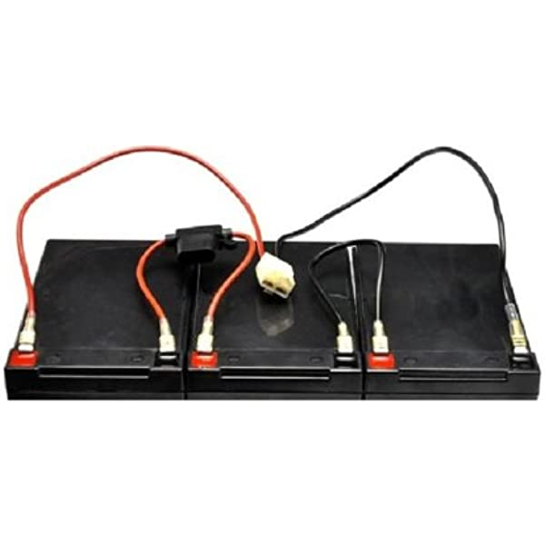amazon.com: razor mx500, mx650 dirt rocket battery wiring harness easy  slide on terminals no soldering! version 1-7: automotive  amazon.com