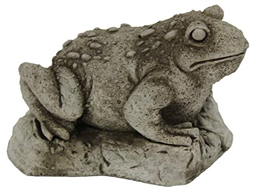 Toad Garden Statues Cement Frog Sculptures Cast Stone Frogs Figurines