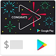 Google Play gift code - give the gift of games, apps and more (Email Delivery - CA Only)