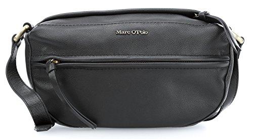 Marc O'Polo Merle M Bolso bandolera piel 29 cm black_black, schwarz