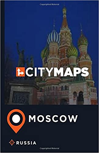 City Maps Moscow Russia