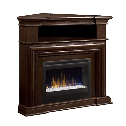 DIMPLEX Montgomery Corner Electric Fireplace Media Console Dimplex Corner Electric Fireplace