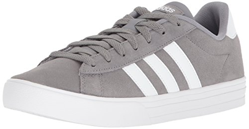 Adidas Classic Sneakers - adidas Men's Daily 2.0 Sneaker, Grey Three/White/White, 9.5 M US