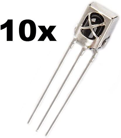 5x diodo led 5mm infrarosso IR ricevitore 940nm infrared receiver rx arduino