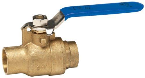 3 4 brass ball valve solder - 1