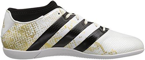 adidas Performance Herren Ace 16.3 Primemesh im Fußballschuh Weiß / Metallic Gold / Schwarz