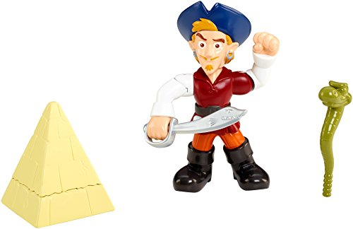 Fisher-Price Disney Jake and The Never Land Pirates Buccaneer Battling Captain Flynn (Peter Pan Jake And The Neverland Pirates)