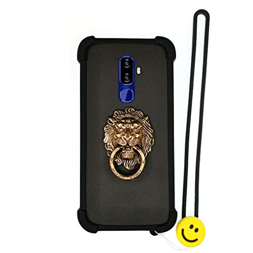 Case for Nuu Mobile G3 Case Silicone Border + PC Hard backplane Stand Cover SHI